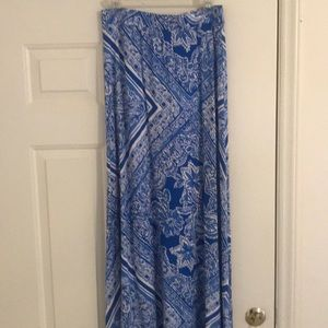 Lilly Pulitzer Maxi Skirt, medium